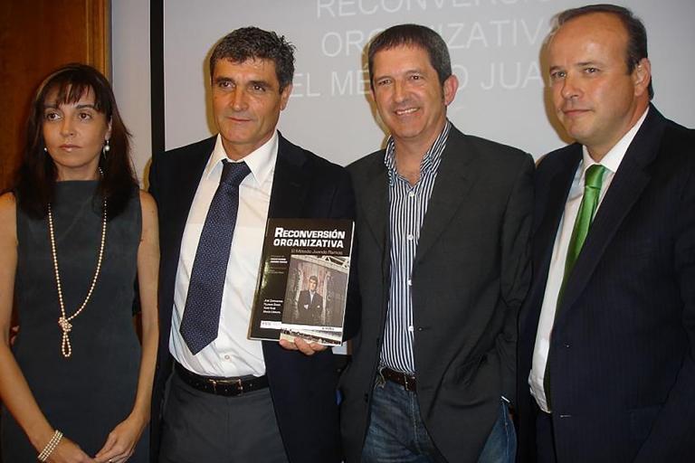 """Presentación del Libro """"Reconversión Organizativa, el Método Juande Ramos"""""""
